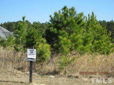 Lee County Residential Lots & Land Pending: Lot 20 Saintsbury Place