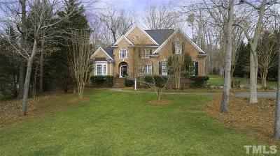 Raleigh Single Family Home Contingent: 11208 Brass Kettle Drive