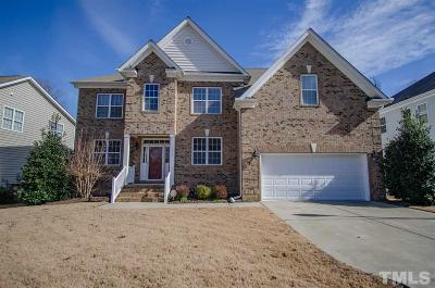 Wake Forest Single Family Home Contingent: 1317 Lagerfeld Way