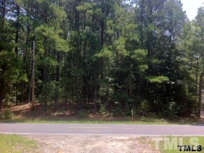 Chapel Hill Residential Lots & Land For Sale: 8319 Farrington Mill Road