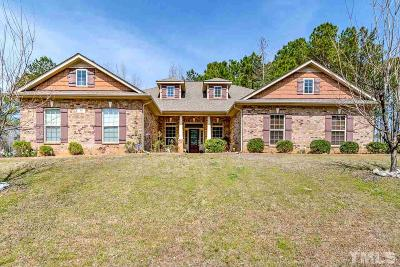 Johnston County Single Family Home For Sale: 46 Spring Haven Lane