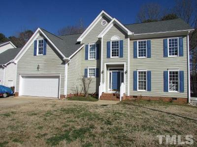 Wake County Single Family Home Contingent: 6516 Englehardt Drive