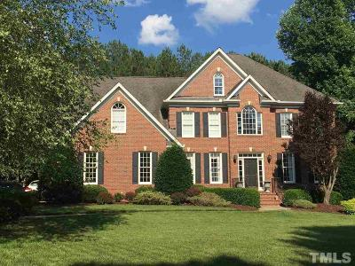 Apex Single Family Home Contingent: 1614 Squaw Walden Lane