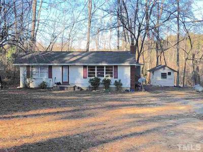 Pittsboro Single Family Home Contingent: 1983 Lamont Norwood Road