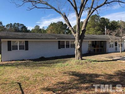 Wake Forest Single Family Home For Sale: 4025 Jonesville Road