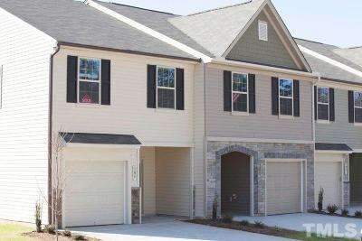 Johnston County Rental For Rent: 96W Grove Point Drive #60