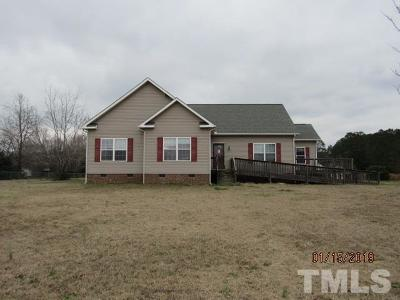 Wendell Single Family Home Pending: 4925 Watkins Road