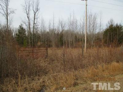 Rougemont Residential Lots & Land For Sale: 1319 Berea Road