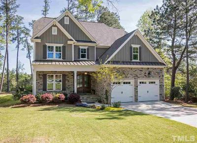 Apex Single Family Home For Sale: 1521 Olive Chapel Road