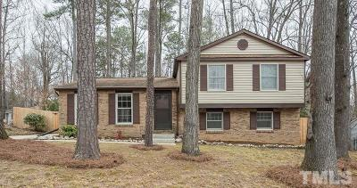 Cary Single Family Home Contingent: 103 Clydesdale Court