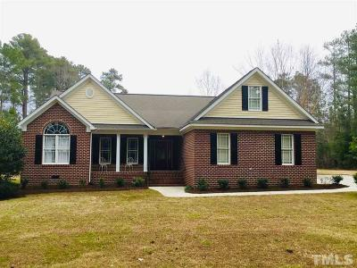 Franklin County Single Family Home For Sale: 395 Tarboro Road