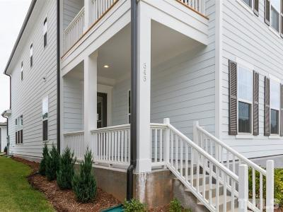 Wake Forest Single Family Home For Sale: 1500 Pointon Way #156