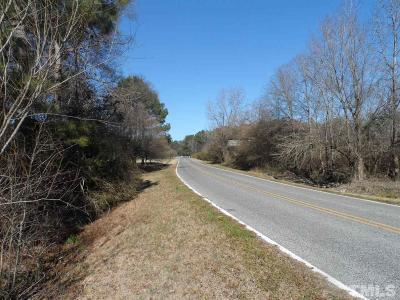 Johnston County Residential Lots & Land Contingent: Capps Road