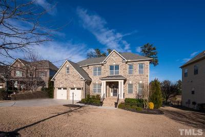 Cary Single Family Home Contingent: 232 Clear River Place