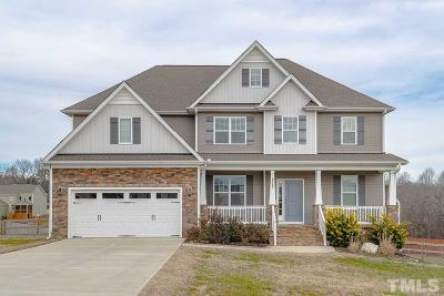 Granville County Single Family Home Contingent: 1034 Butterfly Circle