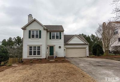 Durham Single Family Home Contingent: 4906 Bridgewood Drive
