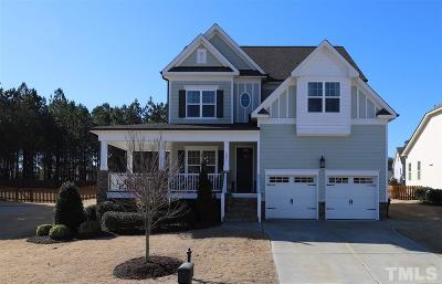 Rolesville Single Family Home Pending: 3071 Freeman Farm Way