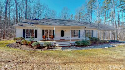 Rougemont Single Family Home For Sale: 7521 Troon Lane