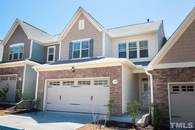 Wake Forest Townhouse For Sale: 562 Brunello Drive #60