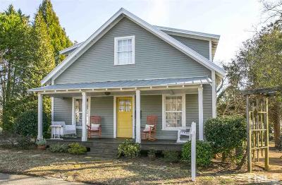 Orange County Single Family Home Contingent: 303 Knight Street