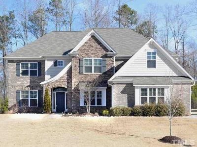 Clayton Single Family Home For Sale: 137 Siena Way