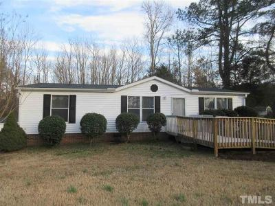 Manufactured Home Pending: 1601 Mill Creek Road