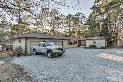 Durham Single Family Home Contingent: 8202 Nc 751 Highway