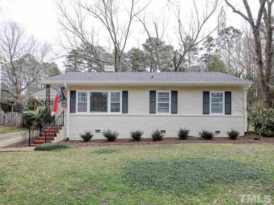 Wake County Single Family Home For Sale: 1332 Banbury Road