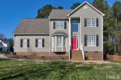 Wake Forest Single Family Home For Sale: 3005 Dargan Hills Drive