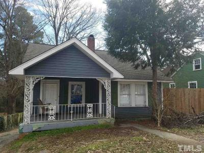 Durham Multi Family Home For Sale: Chapel Hill Road