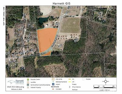 Harnett County Residential Lots & Land Contingent: Cokesbury Road