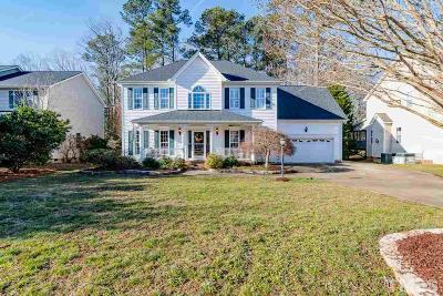 Cary Single Family Home Contingent: 108 Forest Run Place Place