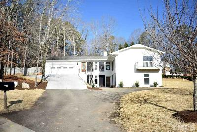 Raleigh Single Family Home For Sale: 5500 Live Oak Trail