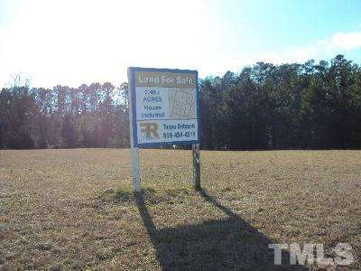 Wake County Residential Lots & Land For Sale: 6904 Battle Bridge Road