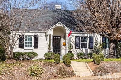 Wake County Single Family Home For Sale: 723 E Whitaker Mill Road