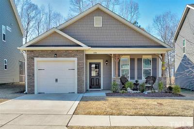 Clayton Single Family Home For Sale: 129 McDowell Parkway