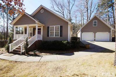 Creedmoor Single Family Home Contingent: 1096 Lake Ridge Drive