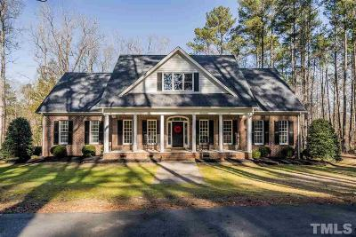 Zebulon Single Family Home For Sale: 1145 Pine Ridge Road