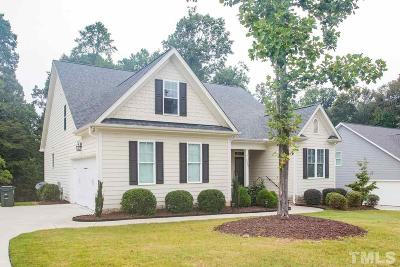 Garner Single Family Home For Sale: 5228 Hartfelt Drive