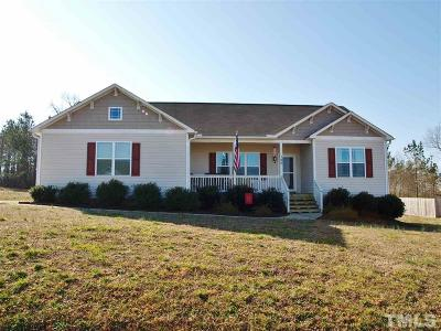 Zebulon Single Family Home For Sale: 125 W Letchworth Drive