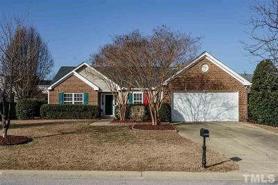Fuquay Varina Single Family Home Contingent: 1913 Ashview Drive