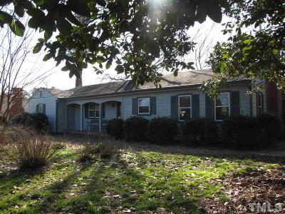 Fuquay Varina Single Family Home For Sale: 1808 Bass Lake Road