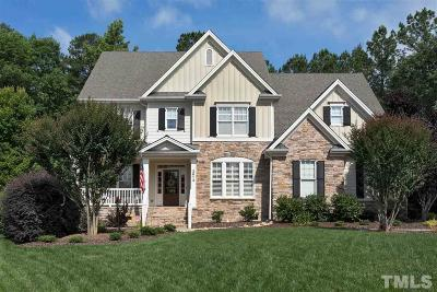 Raleigh Single Family Home Contingent: 2613 Rock Oak Court