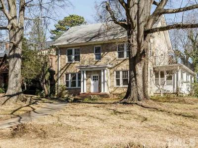 Hayes Barton Single Family Home For Sale: 1202 Cowper Drive