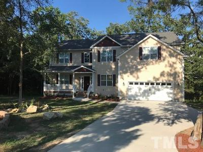 Chapel Hill Single Family Home For Sale: 1641 Holly Creek Lane