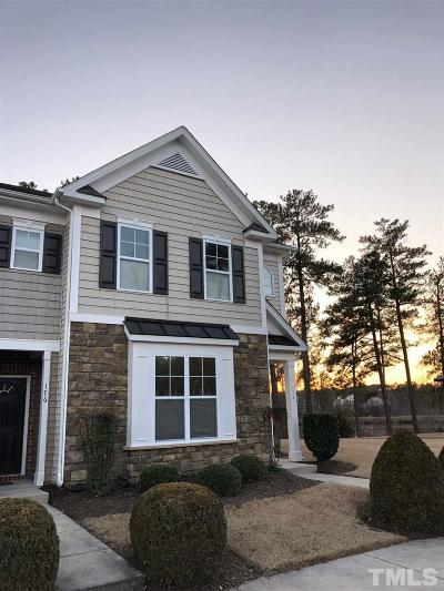 Durham Townhouse Contingent: 100 Stratford Lakes Drive #178