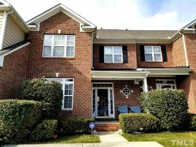 Apex Townhouse For Sale: 1517 Poets Glade Drive