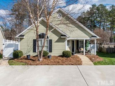 Cary Single Family Home Pending: 115 Romaine Court