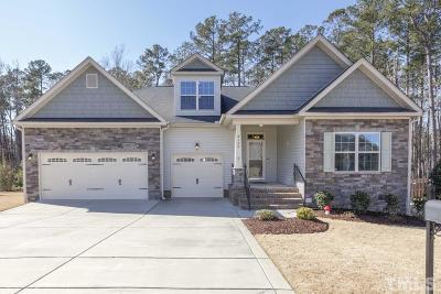 Angier Single Family Home Pending: 8100 Crookneck Drive
