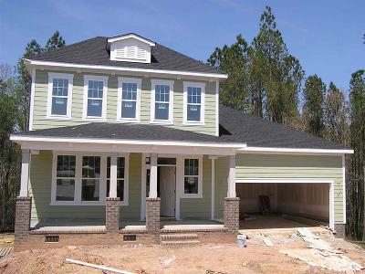 Fuquay Varina Single Family Home For Sale: 8100 Fieldcrest Lane